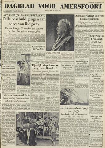 Dagblad voor Amersfoort 1951-08-30
