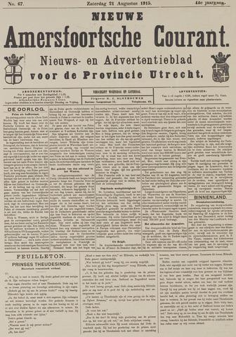 Nieuwe Amersfoortsche Courant 1915-08-21