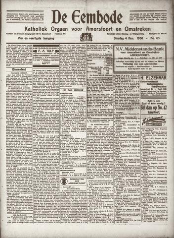 De Eembode 1930-11-04