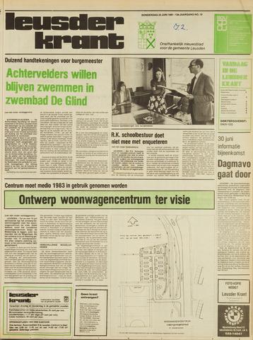 Leusder Krant 1981-06-25