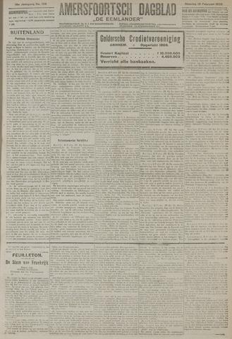 Amersfoortsch Dagblad / De Eemlander 1920-02-10