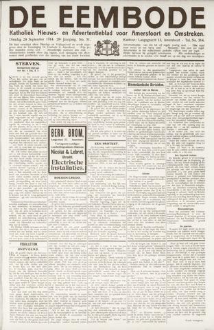 De Eembode 1914-09-29