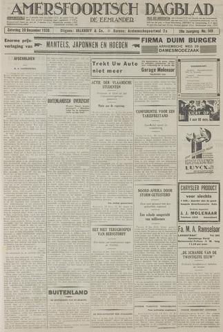 Amersfoortsch Dagblad / De Eemlander 1930-12-20