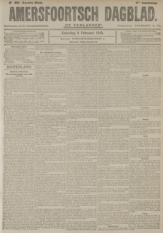 Amersfoortsch Dagblad / De Eemlander 1913-02-08