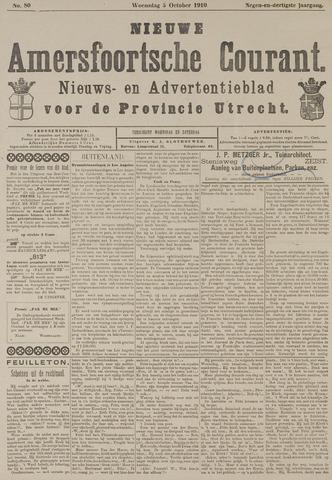 Nieuwe Amersfoortsche Courant 1910-10-05