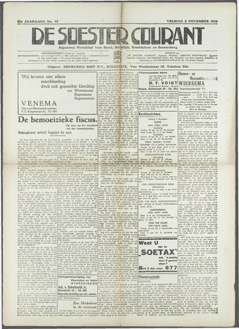 Soester Courant 1934-11-02