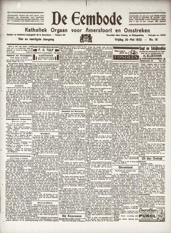 De Eembode 1930-05-30