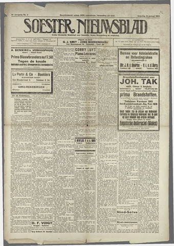 Soester Courant 1924-01-12
