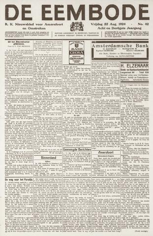 De Eembode 1924-08-22