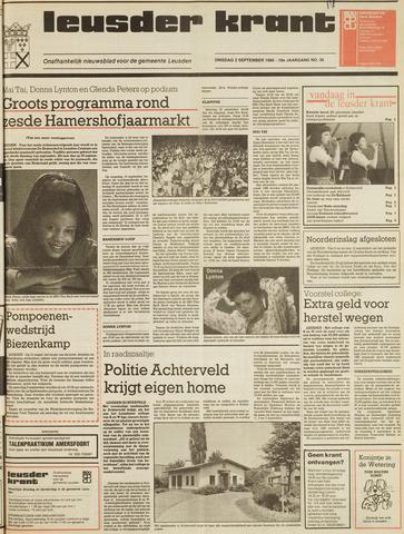 Leusder Krant 1986-09-02