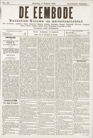 De Eembode 1903-10-17