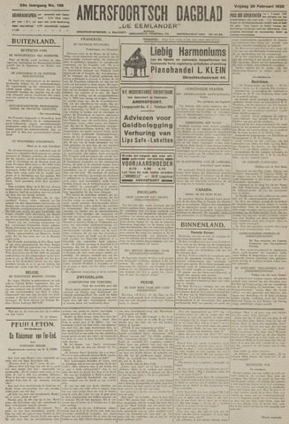 Amersfoortsch Dagblad / De Eemlander 1925-02-20