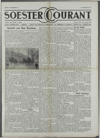 Soester Courant 1957-11-19