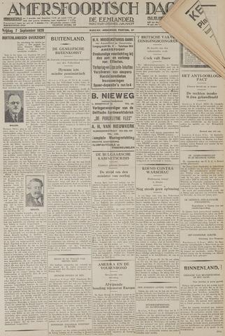 Amersfoortsch Dagblad / De Eemlander 1928-09-07