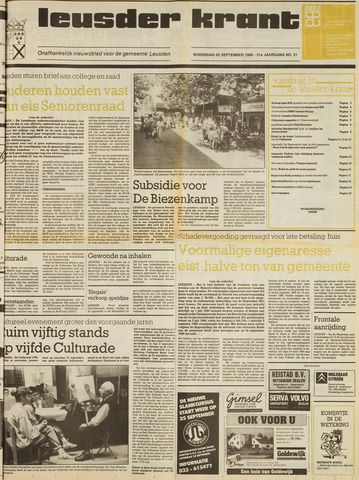 Leusder Krant 1989-09-20