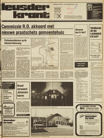 Leusder Krant 1980-04-22