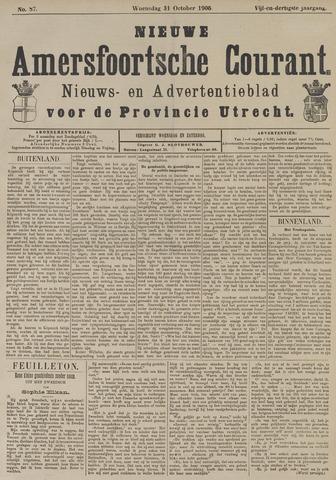 Nieuwe Amersfoortsche Courant 1906-10-31