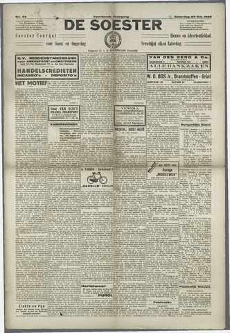 Soester Courant 1926-10-23