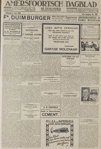 Amersfoortsch Dagblad / De Eemlander 1929-06-08