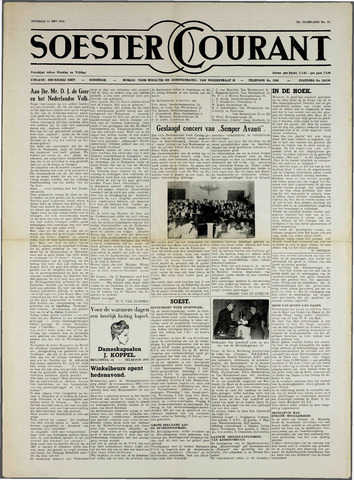 Soester Courant 1954-05-11