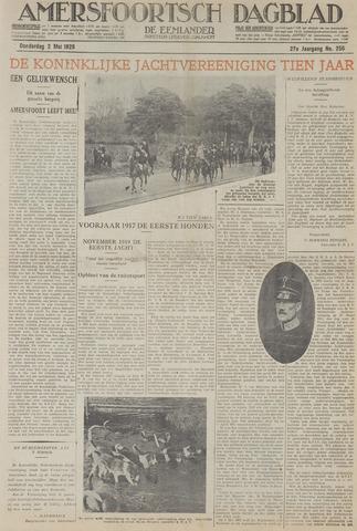 Amersfoortsch Dagblad / De Eemlander 1929-05-02