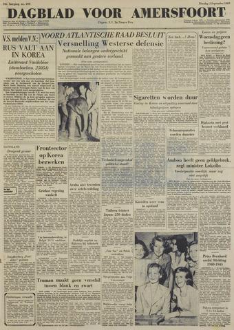 Dagblad voor Amersfoort 1950-09-05