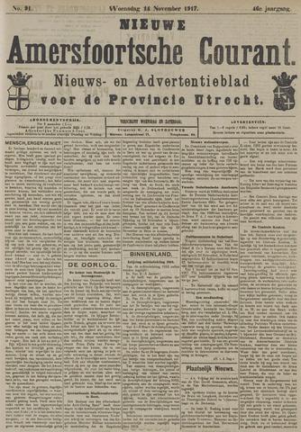 Nieuwe Amersfoortsche Courant 1917-11-14