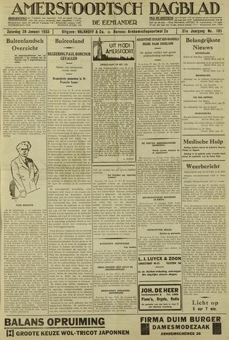 Amersfoortsch Dagblad / De Eemlander 1933-01-28