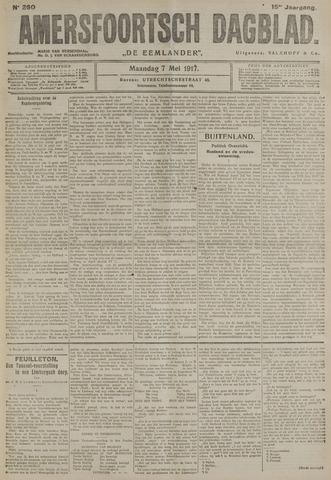 Amersfoortsch Dagblad / De Eemlander 1917-05-07