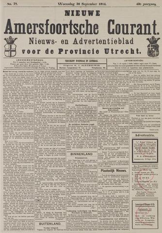 Nieuwe Amersfoortsche Courant 1914-09-30