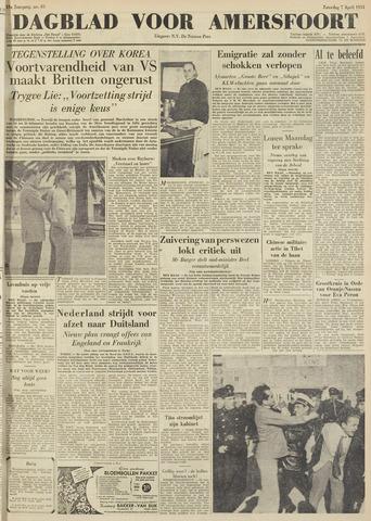 Dagblad voor Amersfoort 1951-04-07