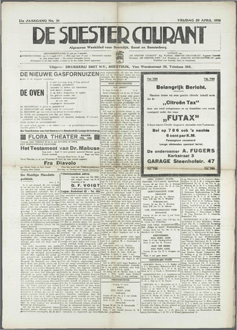 Soester Courant 1934-04-20