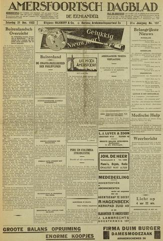 Amersfoortsch Dagblad / De Eemlander 1932-12-31