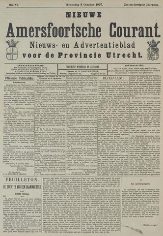Nieuwe Amersfoortsche Courant 1907-10-09