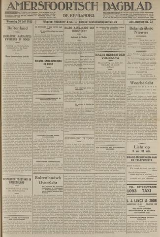 Amersfoortsch Dagblad / De Eemlander 1933-07-26