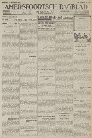 Amersfoortsch Dagblad / De Eemlander 1929-08-28