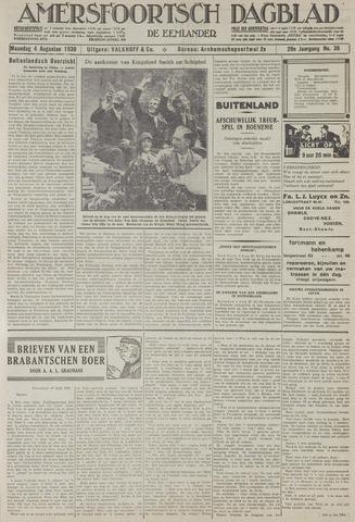 Amersfoortsch Dagblad / De Eemlander 1930-08-04