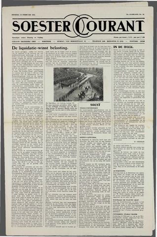 Soester Courant 1952-02-19