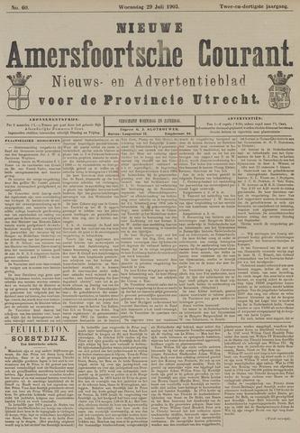 Nieuwe Amersfoortsche Courant 1903-07-29