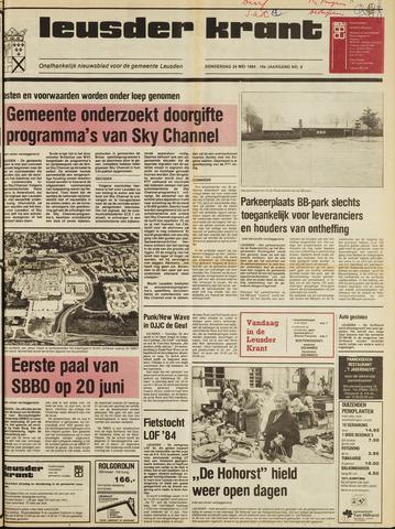 Leusder Krant 1984-05-24