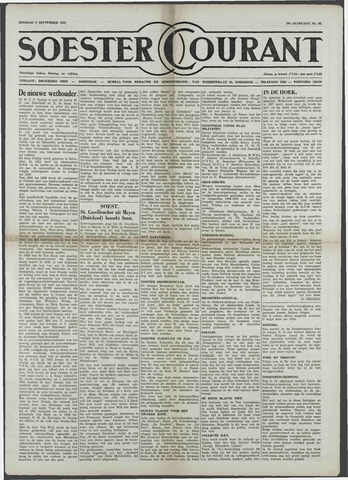 Soester Courant 1958-09-09