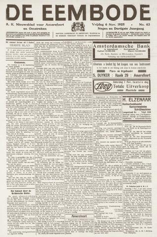 De Eembode 1925-11-06