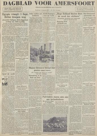 Dagblad voor Amersfoort 1947-08-14
