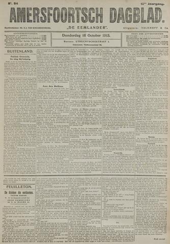 Amersfoortsch Dagblad / De Eemlander 1913-10-16