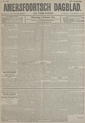 Amersfoortsch Dagblad / De Eemlander 1914-02-04
