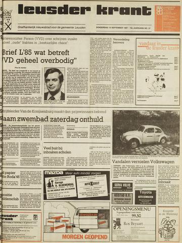 Leusder Krant 1987-09-10