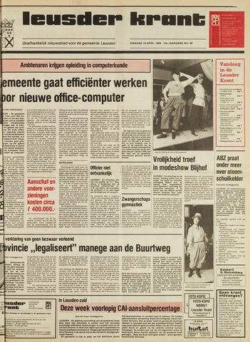 Leusder Krant 1984-04-10