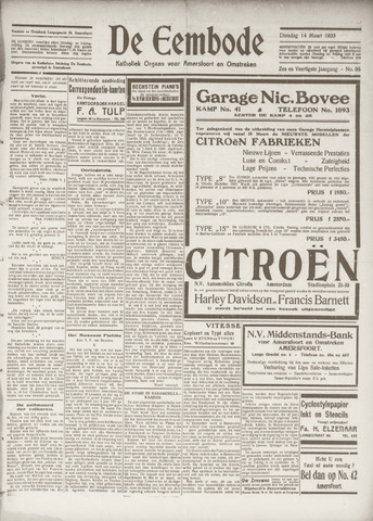 De Eembode 1933-03-14
