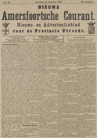 Nieuwe Amersfoortsche Courant 1919-08-16