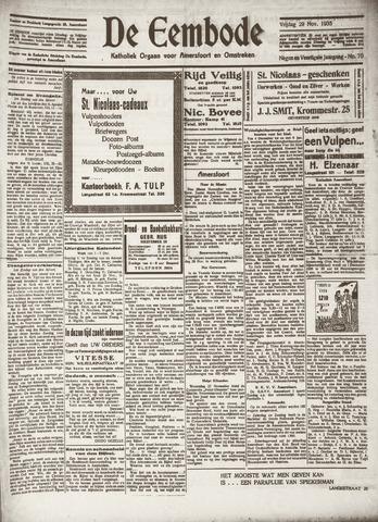 De Eembode 1935-11-29